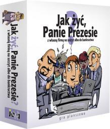 Jawa Gra planszowa Jak żyć Panie Prezesie? (214597)
