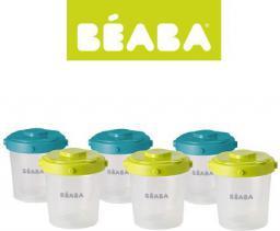 Beaba Pojemnik hermetyczny Clip zielony 6x200ml