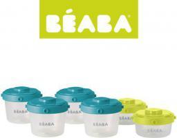 Beaba Zestaw słoiczków Clip 6 szt. 60 ml i 120 ml (912481)