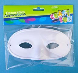 Craft with Fun Maska na oczy zrób to sam DIY dekupaż