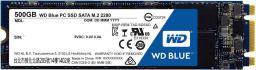 Dysk SSD Western Digital Blue 500 GB M.2 2280 SATA III (WDS500G1B0B)
