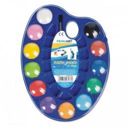 Starpak Farby akwarelowe 12 kolorów + pędzelek