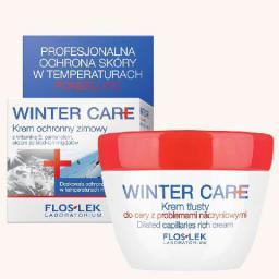 FLOSLEK Floslek Winter Care Krem ochronny tłusty do cery naczynkowej  50ml