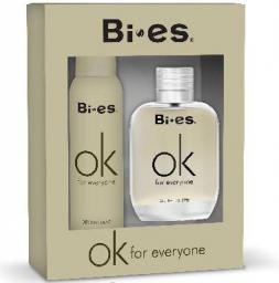 Bi-es Ok for Everyone Komplet (woda perfumowana 100ml + dezodorant 150ml)