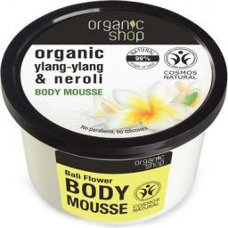 Organic Shop Bali Flower Body Mousse Mus do ciała 250ml