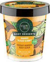 Organic Shop Organic Shop Body Desserts Mango Sugar Sorbet Body Scrub (W) peeling do ciała 450ml