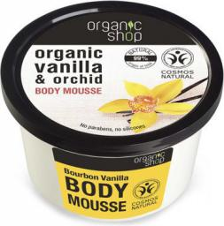 Organic Shop Bourbon Vanilla Body Mousse Mus do ciała 250ml
