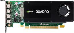 Karta graficzna HP Quadro K1200 4GB GDDR5 4xmDP (T7T59AA)