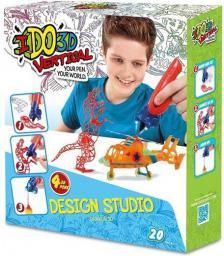 Formatex IDO3D Dzika zabawa - 4 długopisy 3D (5256)