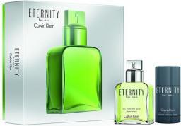 Calvin Klein Eternity Men Zestaw dla mężczyzn EDT 100ml + dezodorant sztyft 75ml