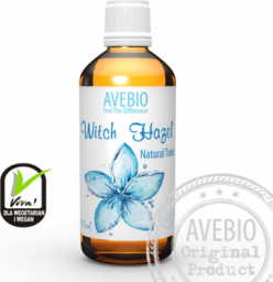 Avebio Naturalny tonik oczarowy o działaniu przeciwzapalnym i łagodzącym