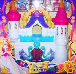 MALIS Domek dla lalek zamek i dwie duze wieze