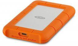 Dysk zewnętrzny LaCie HDD Rugged 1 TB Pomarańczowy (STFR1000400)