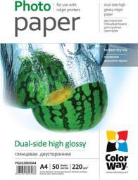 ColorWay papier fotograficzny A4 50szt. (PGD220050A4)