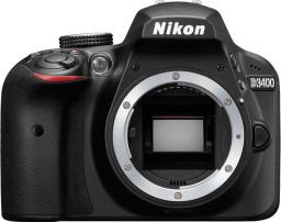 Lustrzanka Nikon D3400 Body Czarny (VBA490AE)