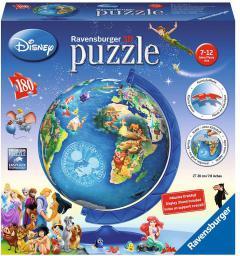 Ravensburger Puzzle kuliste Disney Globus 180 elementów