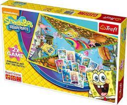 Trefl Gra planszowa SpongeBob 2x Game (01421)