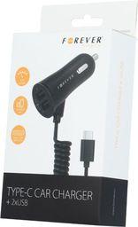 Ładowarka Forever Ładowarka samochodowa 2x USB (GSM018040)