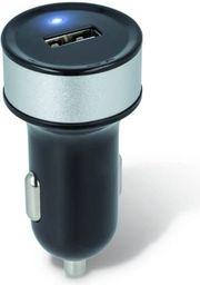 Ładowarka Forever Samochodowa ładowarka USB 1 A Forever czarna - GSM005428