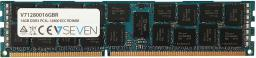 Pamięć serwerowa V7 DDR3L  16GB,  1600MHz,  CL11, ECC (V71280016GBR)
