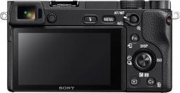 Aparat Sony Alpha 6300, Czarny + 16-50mm (ILCE6300LB.CEC)