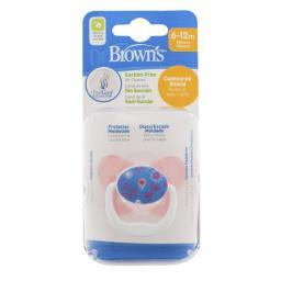 Dr. Browns Smoczek Ortodontyczny Prevent Motyl Poziom 2 (000800)