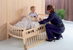 Baby Dan Drewniana barierka ochronna łóżka