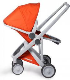 Wózek Greentom Upp Reversible szary-pomarańczowy (GTU-ABD-GOR)