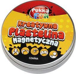 Pukka Kreatywna plastelina - Magnetyczna czarna - 217396
