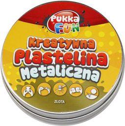 Pukka Kreatywna plastelina Metaliczna złota (217390)