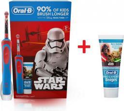 Szczoteczka elektryczna Oral-B D12 KIDS STAR WARS + pasta Pro Expert 75ml