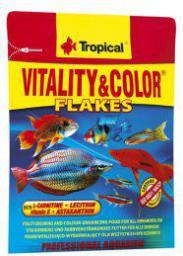 Tropical Vitality&Color pokarm witalizująco-wybarwiający dla ryb 12g