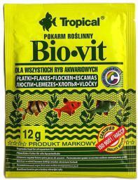 Tropical Bio-Vit pokarm roślinny dla rybek 12g