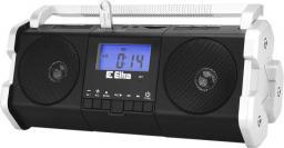 Radio Eltra Maja z cyfrowym strojeniem, USB, funkcja dyktafonu, czarno-białe
