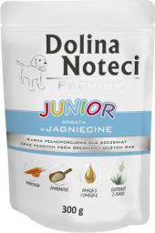 Dolina Noteci Premium Junior bogata w jagnięcinę 300 g