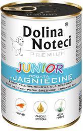Dolina Noteci Premium Junior z jagnięciną 400g