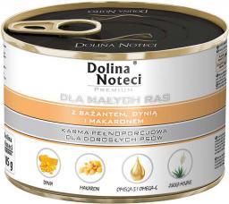 Dolina Noteci Premium dla małych ras z bażantem dynią i makaronem 185 g