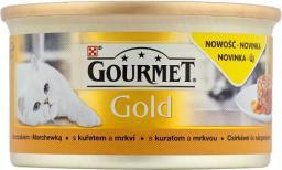 Gourmet Gold z kurczakiem i marchewką 85g