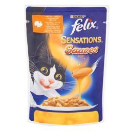 Felix Sensations Sauces z indykiem w sosie 100g
