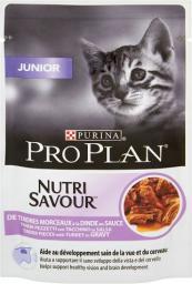 Purina Pro Plan Junior Nutrisavour Indyk 85g