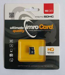 Karta Imro MicroSDHC 16 GB Class 6  (KOM000822)