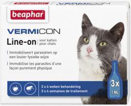 Beaphar Vermicon - Preparat na ektopasożyty dla kota