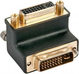 Adapter AV Lindy DVI (M/F) Czarny (41252)