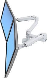 """ErgoTron Uchwyt LX dual dla 2 monitorów do 27"""" (45-491-216)"""