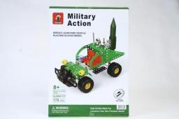 Mega Creative Klocki konstrukcyjne pojazd wojskowy 178el (218224)