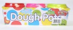 Mega Creative Masa plastyczna 3 kolory (218244)