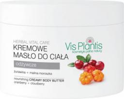 Vis Plantis Herbal Vital Care Kremowe masło do ciała Żurawina-Malina Moroszka 250ml