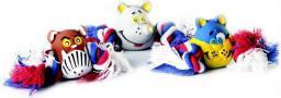 zabawka dla psa mysz ze sznurem, 15 x 5 cm - 17403