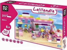 Blocki Blocki Lalilandia - Przyjaciółki w kawiarence 317el (KB4513)