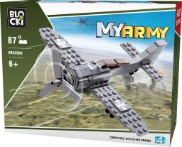 Blocki Blocki Wojsko - Samolot 87el. (KB82006)